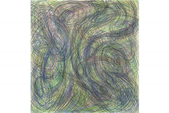 Light Drawing Cosmos (2012), d'Ed Pien... (Photo: fournie par Pierre-François Ouellette art contemporain)