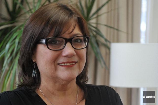 Sylvie Biscaro est la directrice générale du Centre... (Photo: Stéphane Lessard, Le Nouvelliste)