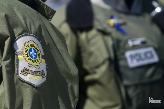 Un deuxième suspect s'est présenté à la Sûreté du Québec vers 11h45, lundi, en... (Photo archives La Presse)