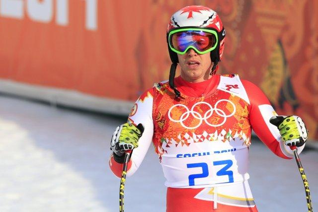 Erik Guay a-t-il disputé ses derniers Jeux olympiques?... (Photo Alexander Klein, AFP)