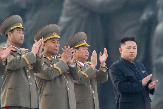 La Corée du Nord a procédé samedi aux tirs d'essai de 30 missiles à courte... (PHOTO ED JONES, ARCHIVES AFP)