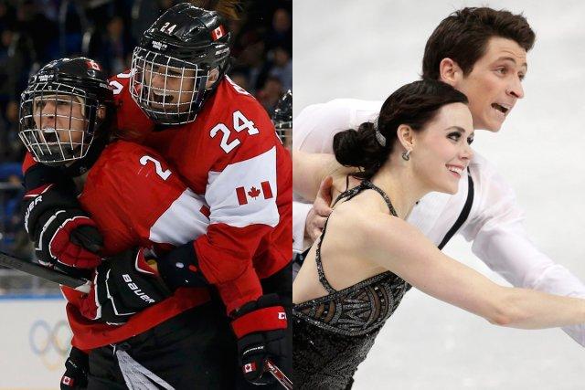 Les Canadiennes croiseront le fer avec les Suisses... (Photos Reuters et AP)