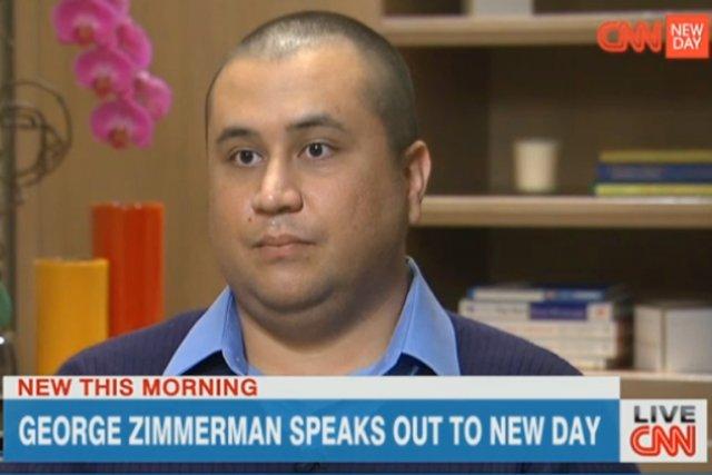 Sur CNN, George Zimmerman a aussi expliqué qu'il... (IMAGE TIRÉE DE CNN.COM)