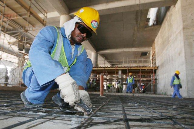 L'ambassade de l'Inde indiquent que 450 travailleurs d'origine... (PHOTO KARIM JAAFAR, ARCHIVES AFP)