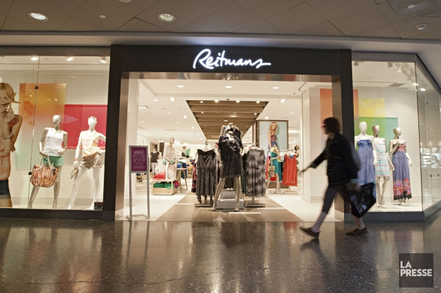 Un boutique Reitmans... (Photo Anne Gauthier, La Presse)