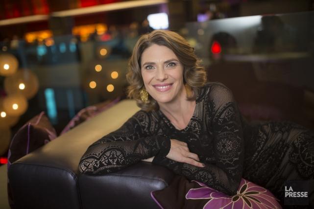 La comédienne Hélène Florent est la porte-parole pour... (PHOTO OLIVIER PONTBRIAND LA PRESSE)