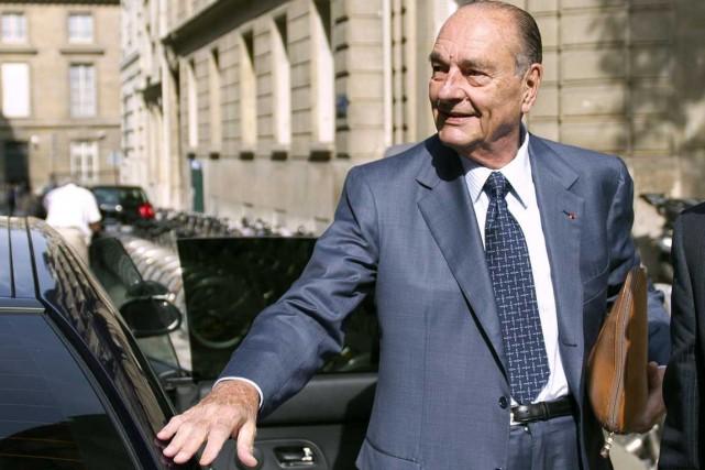 Jacques Chirac... (Photo d'archives AFP)
