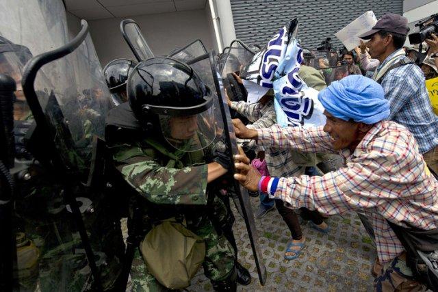 Les manifestants réclament depuis plus de trois mois,... (Photo: AFP)