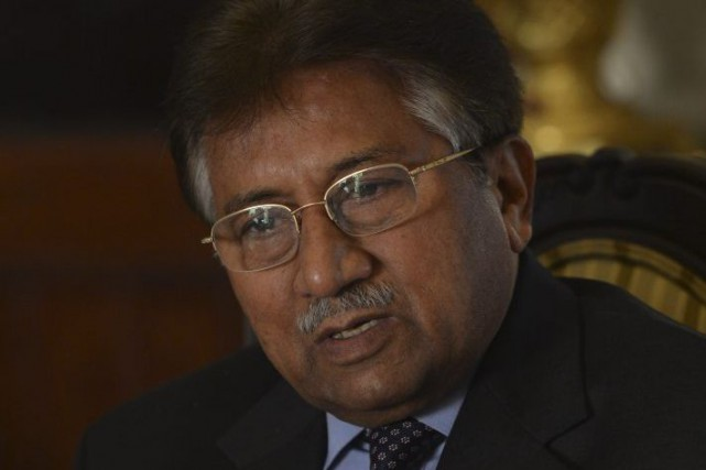 Pervez Musharraf en décembre 2013.... (PHOTO ARCHIVES AGENCE FRANCE-PRESSE)