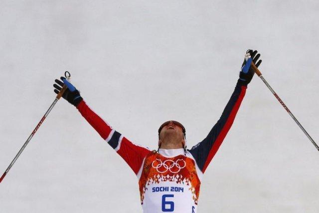 Joergen Graabak... (Photo Michael Dalder, Reuters)