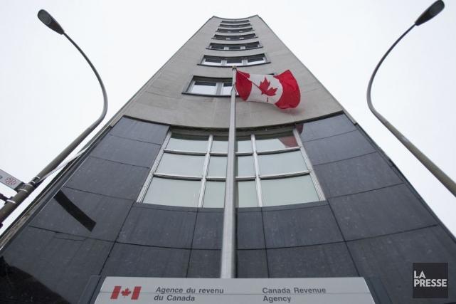 Les bureaux de Revenu Canada... (PHOTO IVANOH DEMERS, ARCHIVES LA PRESSE)