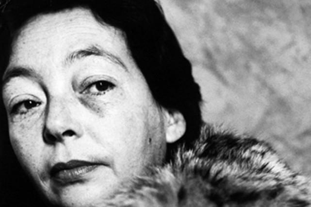 Marguerite Duras... (Photo: tirée du site du Nouvel Observateur)