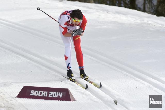 Alex Harvey n'a pu terminer l'épreuve du 15... (Photo Bernard Brault, La Presse)