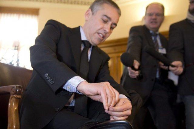 Lebudgetquiseradéposéjeudipar le ministre des Finances Nicolas Marceau neserapas... (Photo La Presse Canadienne)