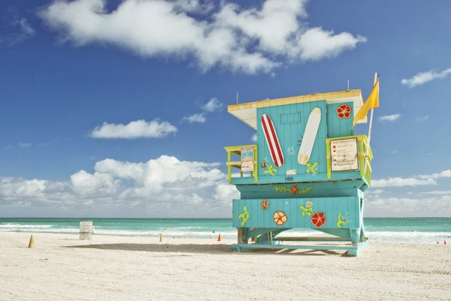 Miami, en Floride.... (Photo Digital/Thinkstock)