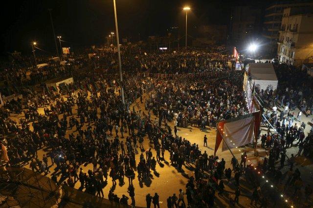 Le CGN fait face depuis fin janvier à... (Photo ESAM OMRAN AL-FETORI, Reuters)