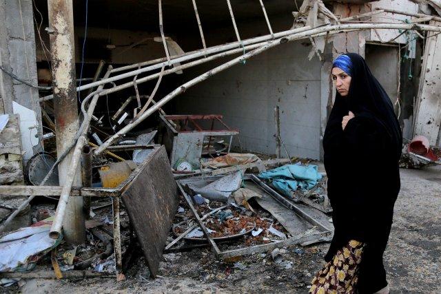 Des explosions ont secoué quatre quartiers de Bagdad,... (Photo Karim Kadim, AFP)