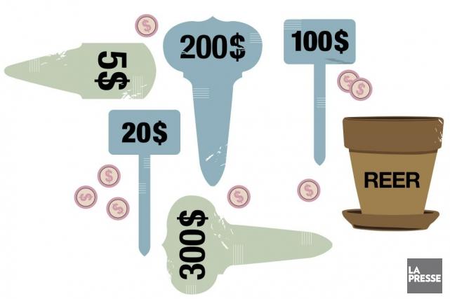 Avant d'investir, il faut savoir que les REER... (Illustration La Presse)