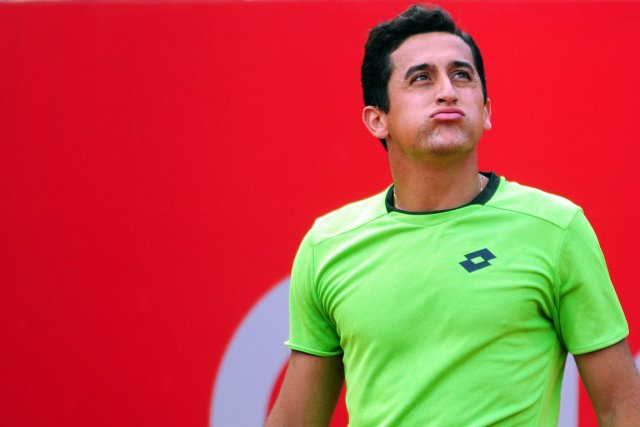 Nicolas Almagro... (Photo Maxi Failla, AFP)