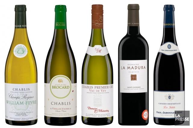 Le Chardonnay a «tout pour plaire: sa culture est facile et possible en tous... (Photomontage La Presse)