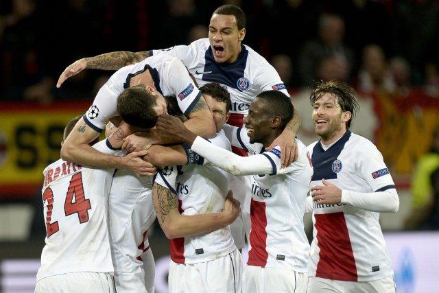 Le Paris Saint-Germain a remporté une victoire facile... (Photo Sascha Schuermann, AFP)