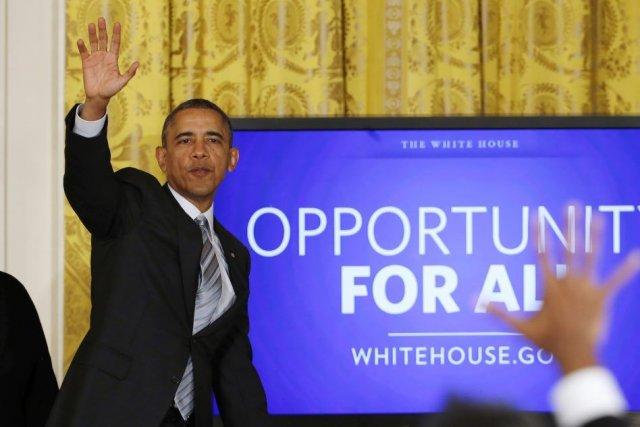 Le président Obama soutient une hausse du salaire... (PHOTO KEVIN LAMARQUE, REUTERS)