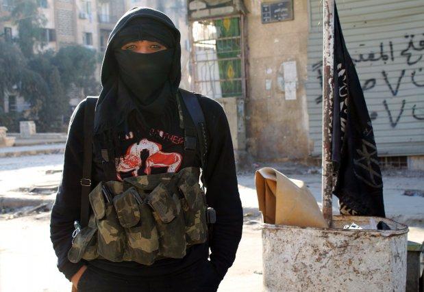 Les combattants islamistes aux allégeances floues changent la... (Photo Agence France-Presse)
