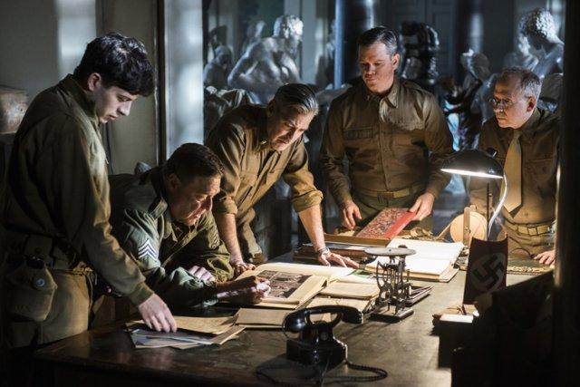 Monuments Menretrace l'histoire vraie d'un groupe d'experts, conservateurs,... (Columbia Pictures)