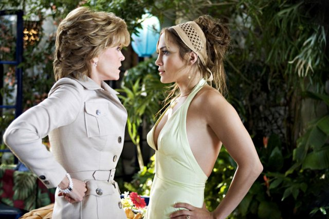 Jane Fonda et Jennifer Lopez dans Monster-in-Law (2005).... (New Line Cinema)