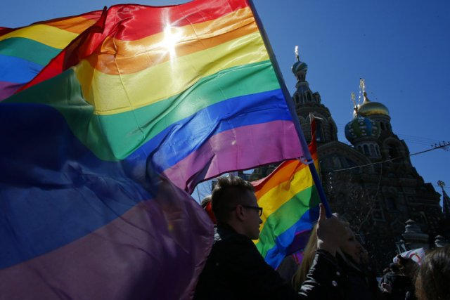 Les militants russes de la cause homosexuelle sont... (Photo: AP)