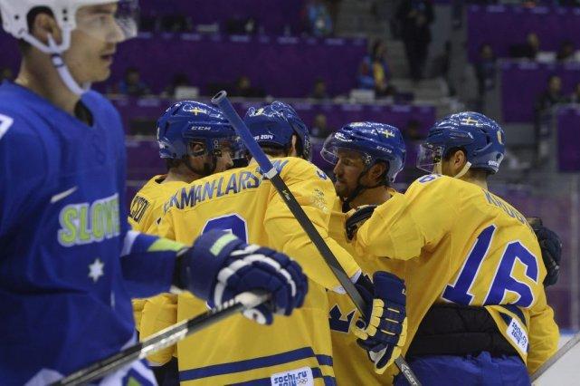 Les Suédois ont ouvert la machine en troisième... (Photo Jonathan Nackstrand, Agence France-Presse)