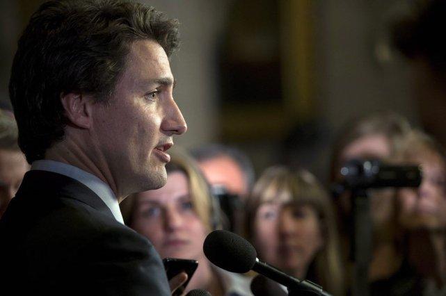 Justin Trudeau... (Photo La Presse Canadienne)