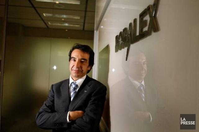 Le PDG de Boralex, Patrick Lemaire....