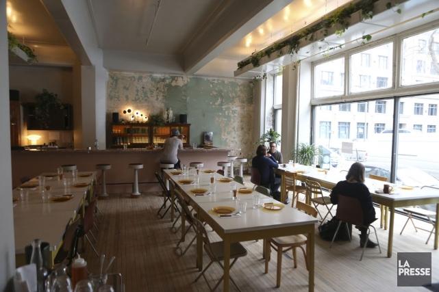 Le local du café est un ancien magasin... (PHOTO MARTIN CHAMBERLAND, LA PRESSE)