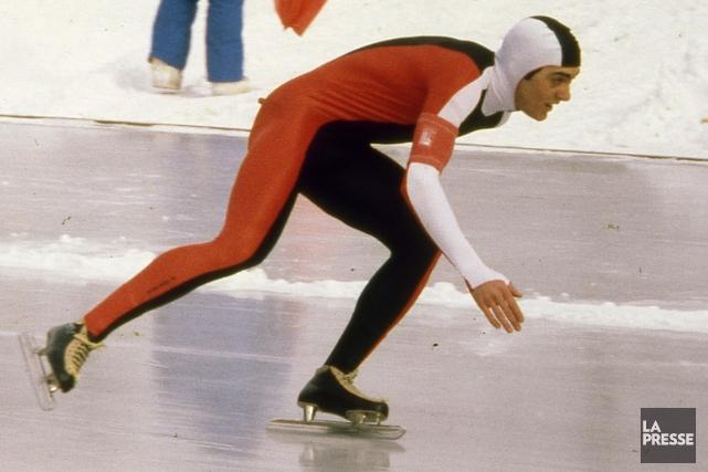 Gaétan Boucher a remporté trois médailles olympiques il... (Photo Michel Gravel, archives La Presse)