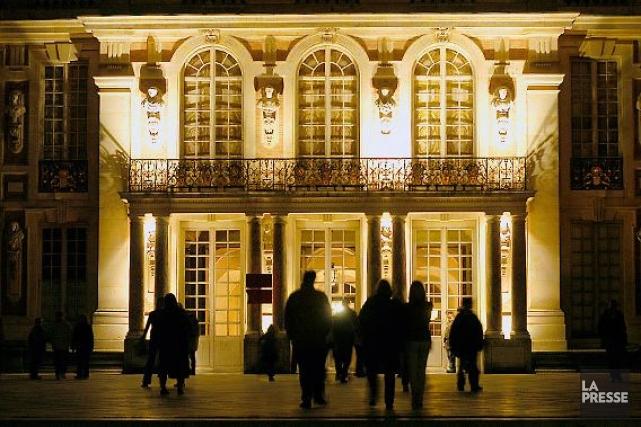Le château de Versailles», une des stars des... (Photo: archives La Presse)