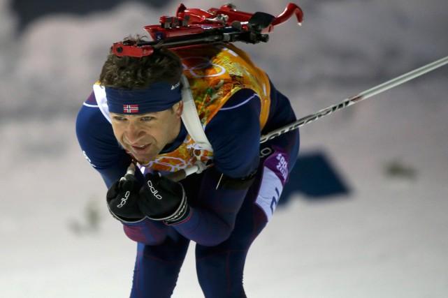 Le biathlète norvégien Ole Einar Bjoerndalen est devenu... (Photo Sergei Karpukhin, archives Reuters)
