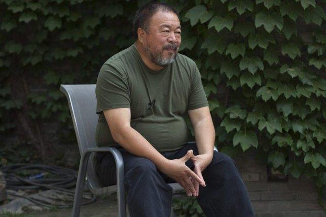 Ai Weiwei... (Photo: archives AP)