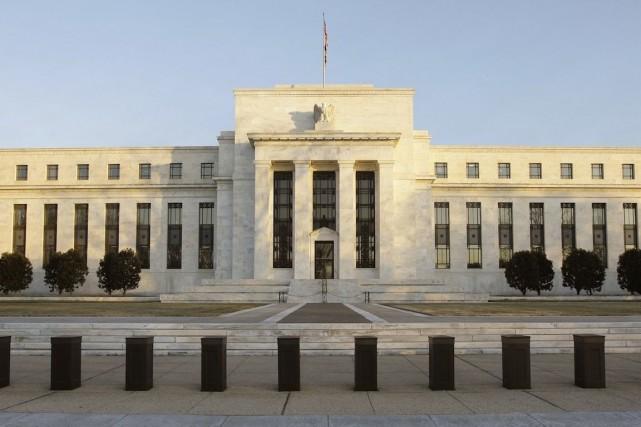 À en croire la Réserve fédérale (Fed), l'économie américaine prend du mieux,... (Photo Alex Brandon, archives AP)