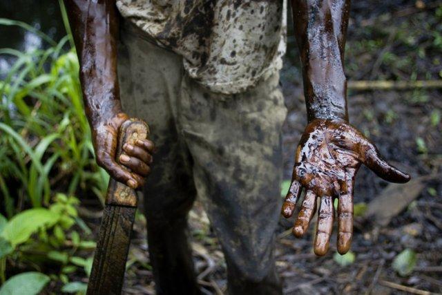 Le Nigeria est le premier producteur de pétrole... (Photo: AP)