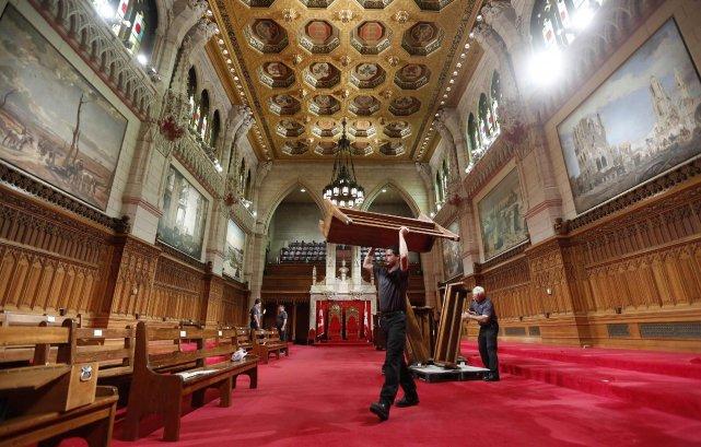 L'auteur estime que le Sénat devrait être revu... (Photo Chris Wattie, archives Reuters)