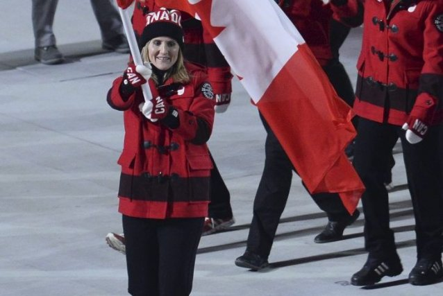 Hayley Wickenheiser... (Photo Jonathan Nackstrand, Agence France-Presse)