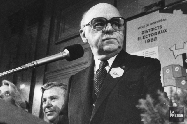 Jean Drapeau en novembre 1982.... (Photo: archives La Presse)