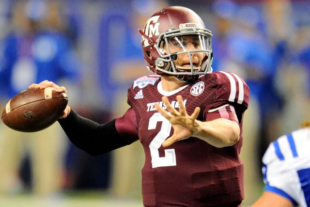 Johnny Manziel est peut-être l'espoir qui polarise le... (Photo Dale Zanine, USA Today)
