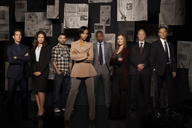 Henry Ian Cusick, Katie Lowes, Guillermo Diaz, Kerry... (Photo: ABC/Craig Sjodin)