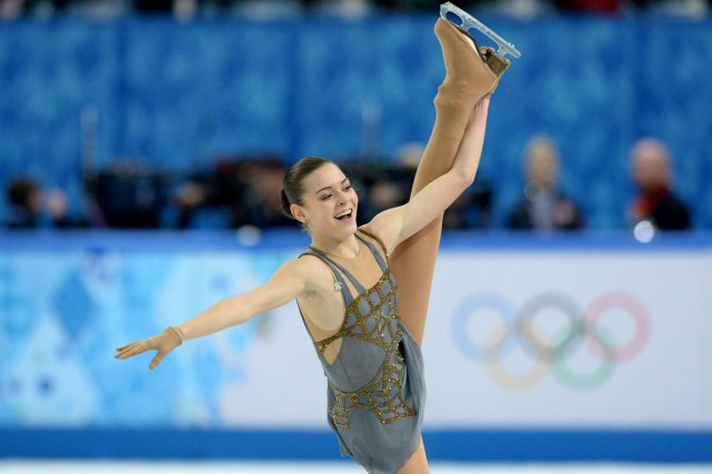 Adelina Sotnikova... (Photo Yuri Kadobnov, archives AFP)