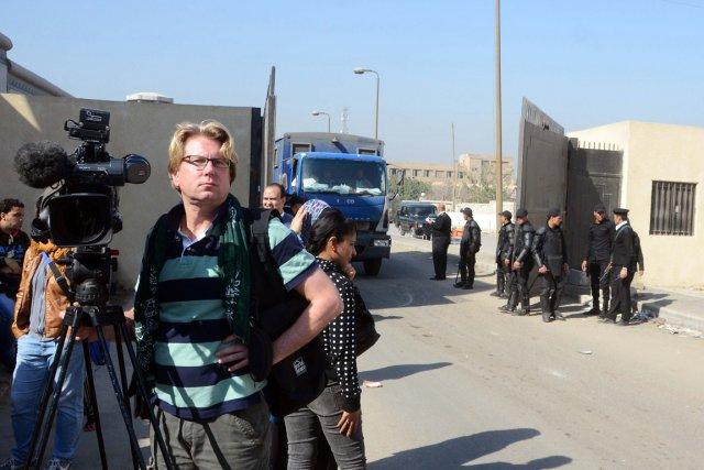 Le procès s'est ouvert devant la cour criminelle... (PHOTO HOSSAM BAKIR, AFP)