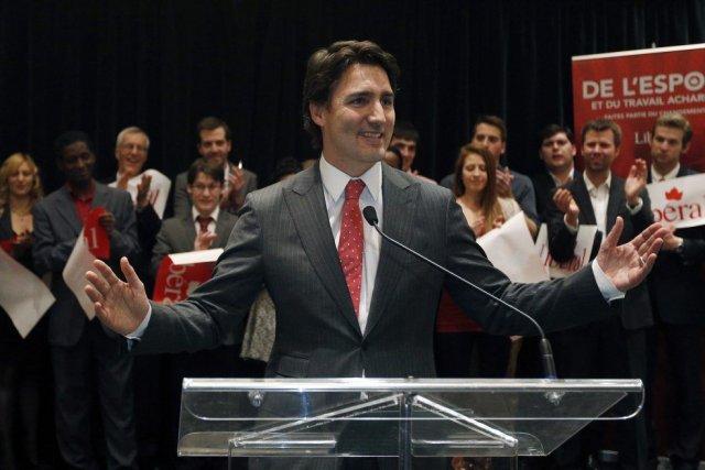 JustinTrudeau veut toutefois saisir l'occasion du congrès pour... (PHOTO MATHIEU BELANGER, REUTERS)