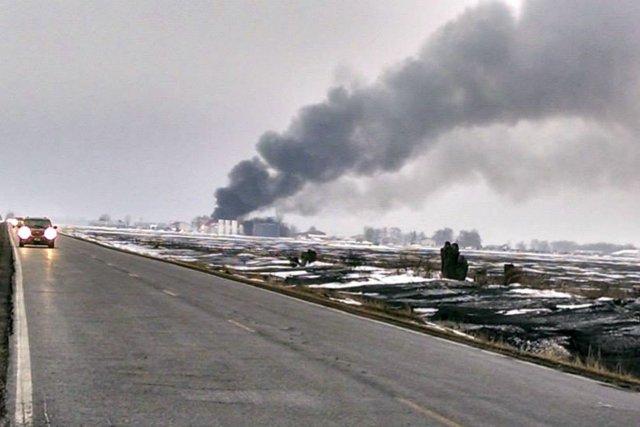 Une petite ville de l'État rural de l'Iowa, dans le centre des États-Unis, a... (Photo ROBERT BAILEY, Reuters)