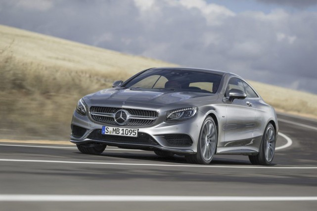 La nouvelle Mercedes Classe S coupé 2015... (Photo fournie par Mercedes-Benz)